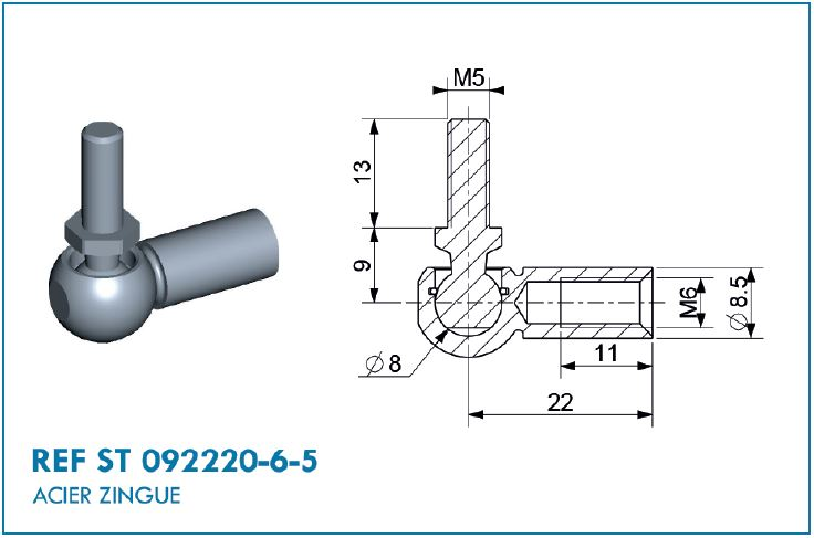 BALL JOINT STEEL